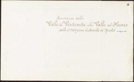 R. Esercito Italiano. Campagna di guerra 1915-1918. Panorami del Fronte dalla Val Sugana al mare.