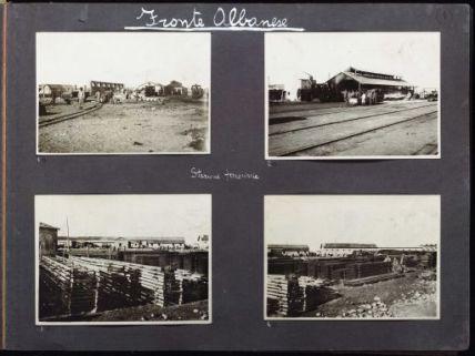 Album fotografico della prima guerra mondiale