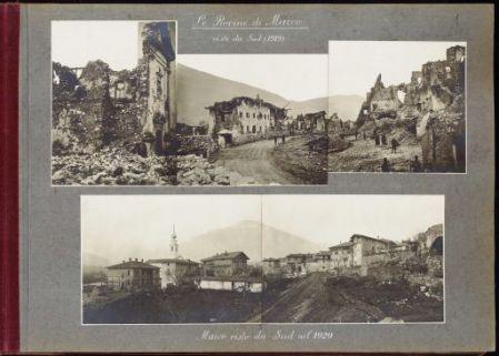Venezia Tridentina. Ricostruzione della zona devastata 1920 - 1921
