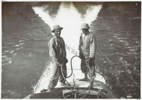 Gall. Lago di Garda: M.A.S. in ricognizione