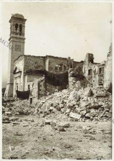 Camporovere (Asiago) rovine della chiesa