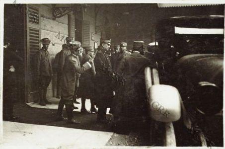 Arrivo a Udine di Guglielmo Marconi
