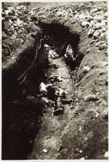I morti in seguito all'attaco austriaco con gas asfissianti sul S. Michele