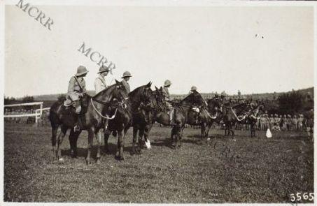 Concorso ippico tra ufficiali alleati a Trissino