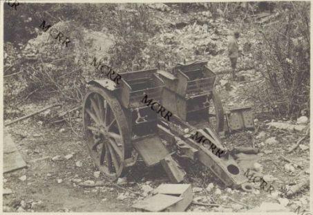 Album 56. Materiale bellico abbandonato dagli austriaci.