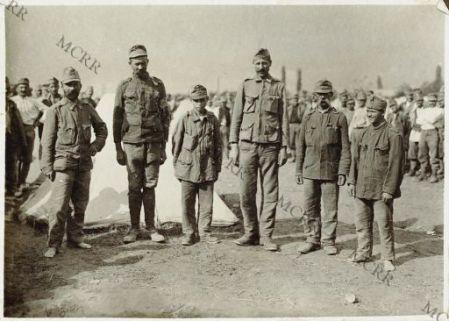 Tipi di prigionieri austriaci
