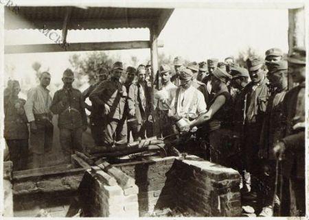 Bagnaria Arsa: un campo di concentrazione prigionieri. La cucina