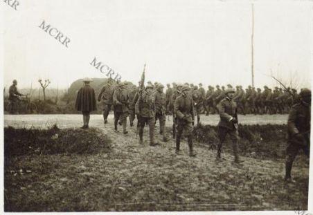 Consegna delle medaglie al valore alle truppe di cavalleria - Palazzolo della Stella 5/1-1917