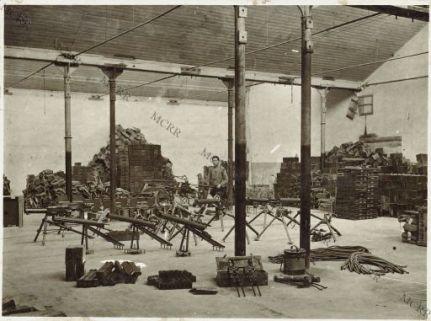 Udine - Magazzino artiglieria 2a. armata - Mitragliatrici