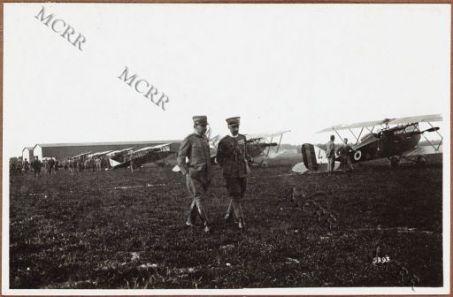 D'Annunzio e il colonnello La Polla.