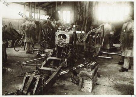Cervignano - Officina riparazione pezzi d'artiglieria