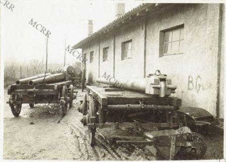 Cervignano - Laboratorio d'artiglieria