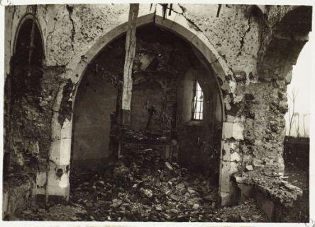Pec - Rovine della Chiesa