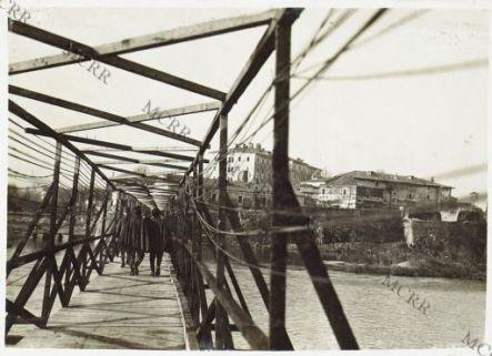 Gradisca - La passerella sull'Isonzo
