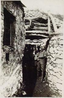 Un rifugio durante il tiro