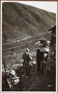 A Passo Tonale: ridotta garibaldina.