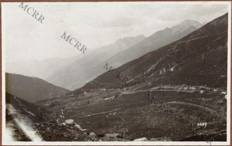 L'alta Val Camonica dal Passo Tonale.