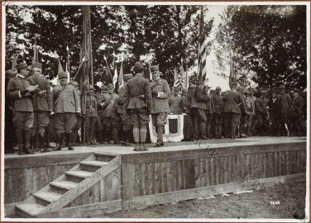 Cerimonia della III Armata.