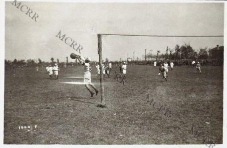 Una gara di foot-ball