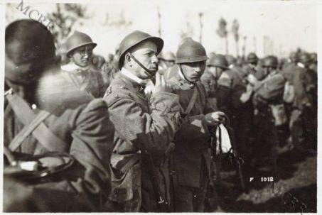 Sacchetti che furono distribuiti ai soldati