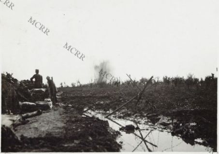 Scoppio di granate