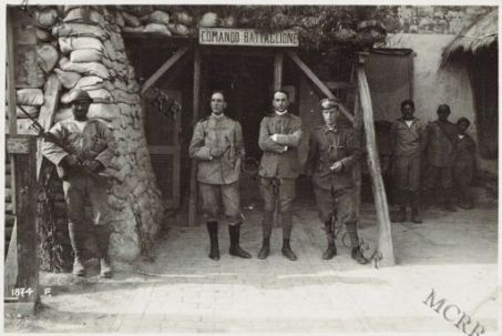 A Cortellazzo. Ad un comando di Battaglione