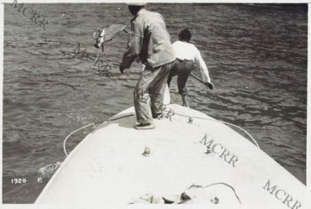 La pesca da un M. A. S.