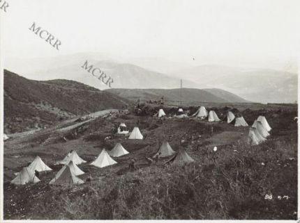 Attendamento presso Tepeleni.