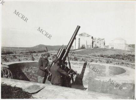 Batteria antiaerea di Gus Baba.