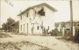 Varie guerra mondiale (Isonzo, Monfalcone, Gorizia, Carso). Stazione di Massa
