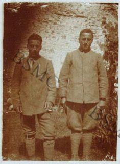 I fratelli [...] e Domenico Giacopelli, soldati della 1452 C.M., Lovero Valtellino, settembre 1918