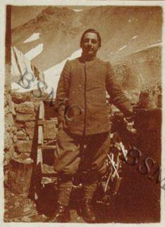 Serg. Sanatelli Guido della 1452 C.M., Forcola, luglio 1918