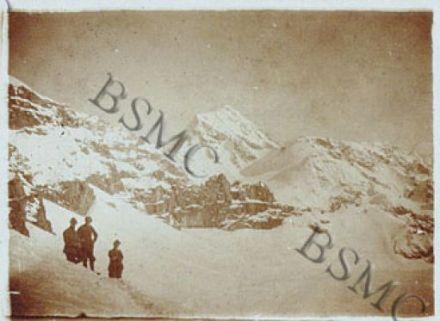 [...]Konig Spitze, Colle della Miniera, Cima della Miniera quota 3270, Passo Volontari dal Passo Camosci, ottobre 1918