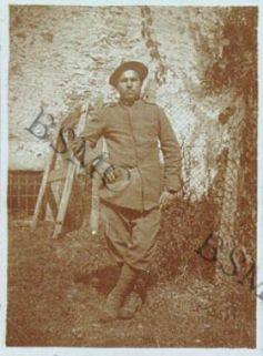 Sold. Gallo Alessandro della 1452 C.M., Lovero Valtellino, settembre 1918