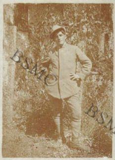 Cap. Magg. di Sanità Serre Pietro della 1452 C.M., Lovero Valtellino, settembre 1918