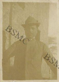 Soldato [...] della 1452 Comp. Mit. a Molina, aprile 1918