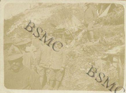 Sold. della 560 Comp. Mit. a Malga Fieno, luglio 1917