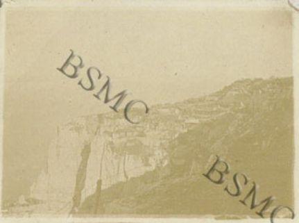 Costoni della Lora, baraccamenti del Batt. Cervino, luglio 1917