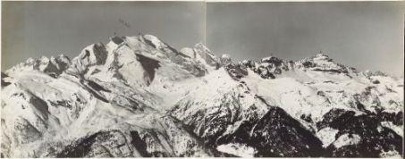 Panorama dal Monte Marmolada a M.te Averan Eseguito da Monte Porè (quota 2132) 18 Marzo 1916