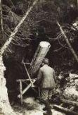 Valle Roccolana: si sega un tronco.