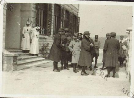 Missioni neutrali in visita all'ospedale di Cervignano