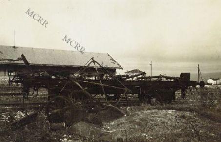 La stazione di Salcano.