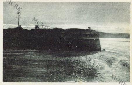 Sebenico: la fortezza con il Leone Veneto.