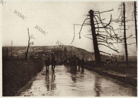 Une route dans la Somme