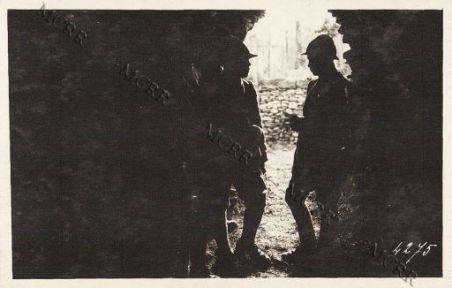 Soldati in caverna