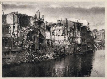 Verdun. Bords de la Meuse