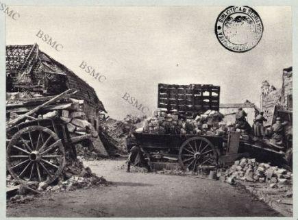La Targette (Pas-de-Calais). La défense du village