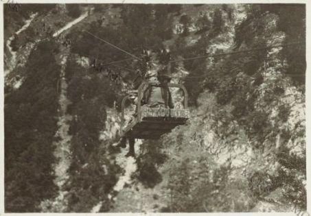 Teleferica da Ternovo a Jama Planina.