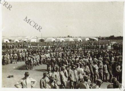 Istruzione delle reclute alla scuola bombardieri.