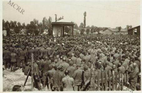 Campo di concentramento prigionieri